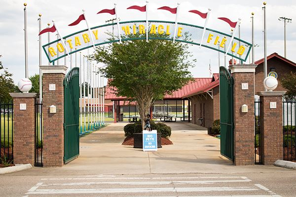 Miracle Field Entrance